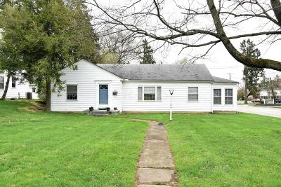 Franklin County, Delaware County, Fairfield County, Hocking County, Licking County, Madison County, Morrow County, Perry County, Pickaway County, Union County Single Family Home For Sale: 1321 Granville Road