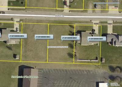 Washington Court House OH Residential Lots & Land For Sale: $49,900