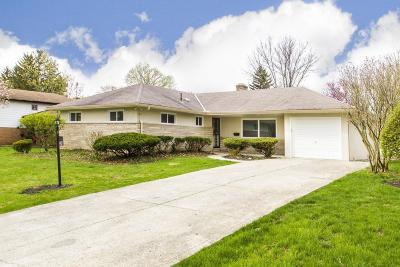 Franklin County, Delaware County, Fairfield County, Hocking County, Licking County, Madison County, Morrow County, Perry County, Pickaway County, Union County Single Family Home For Sale: 1421 Kenwick Road