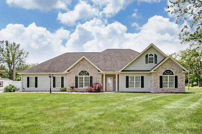Franklin County, Delaware County, Fairfield County, Hocking County, Licking County, Madison County, Morrow County, Perry County, Pickaway County, Union County Single Family Home For Sale: 845 Granville Road