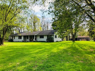 Franklin County, Delaware County, Fairfield County, Hocking County, Licking County, Madison County, Morrow County, Perry County, Pickaway County, Union County Single Family Home For Sale: 5750 S Fork Road