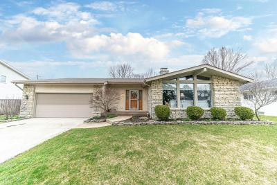 Hilliard Single Family Home For Sale: 3842 Braidwood Drive