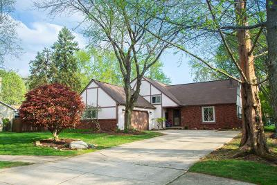 Westerville Single Family Home For Sale: 1375 Goldsmith Drive