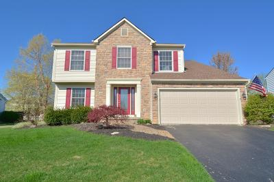Hilliard Single Family Home For Sale: 4133 Greenbelt Drive