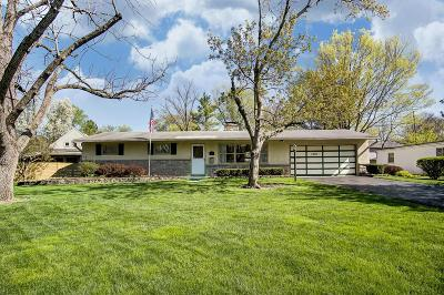 Columbus Single Family Home For Sale: 2466 Edgevale Road