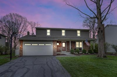 Columbus Single Family Home For Sale: 8386 Fairway Drive