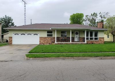 London OH Single Family Home For Sale: $149,900