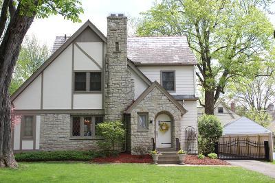 Upper Arlington Single Family Home For Sale: 1911 Tewksbury Road