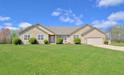 Sunbury Single Family Home Sold: 10941 State Route 521