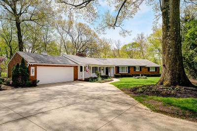 Columbus Single Family Home For Sale: 391 Springs Drive