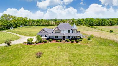 Ashville Single Family Home For Sale: 12614 Gibson Road