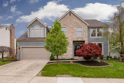 Hilliard Single Family Home For Sale: 4560 Coolbrook Drive