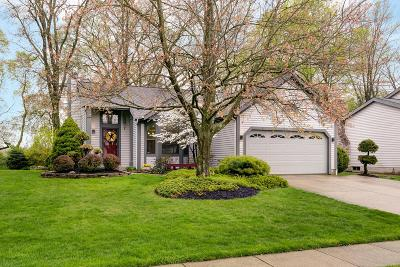 Gahanna Single Family Home Sold: 323 Coldwell Drive