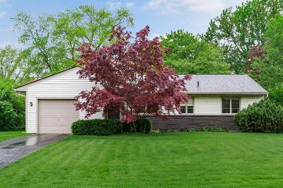 Upper Arlington Single Family Home For Sale: 3317 Leighton Road