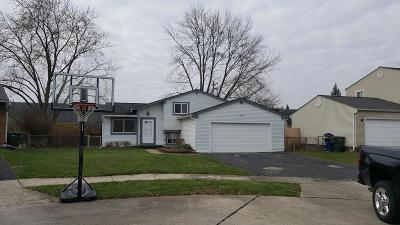 Hilliard Single Family Home Sold: 5525 Bluegrass Way