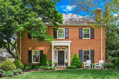 Upper Arlington Single Family Home Sold: 2036 Wyandotte Road