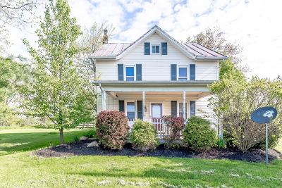 Centerburg Single Family Home For Sale: 3685 Updike Road