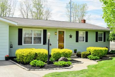 Mount Vernon OH Single Family Home For Sale: $158,000