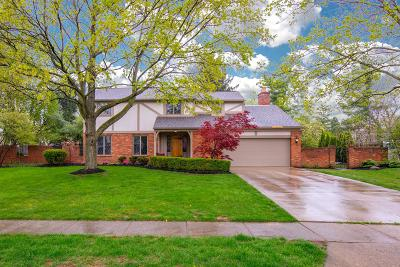 Upper Arlington Single Family Home For Sale: 3720 Pevensey Drive