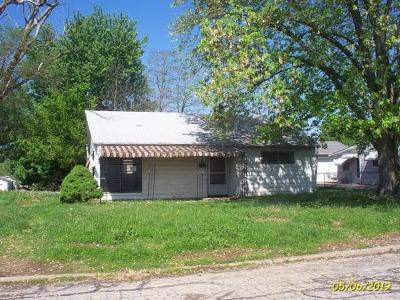 Circleville OH Single Family Home For Sale: $34,500