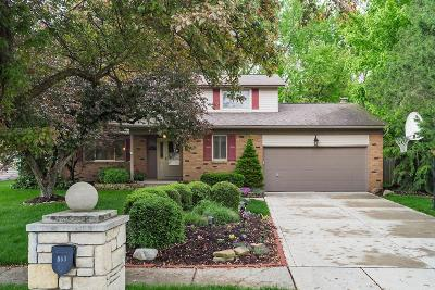 Gahanna Single Family Home For Sale: 563 Wickham Way