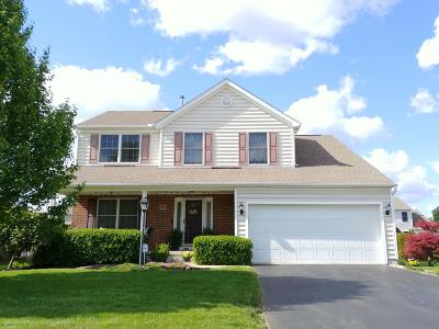 Lewis Center Single Family Home For Sale: 1697 Boxwood Drive
