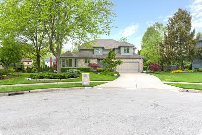 Westerville Single Family Home For Sale: 1254 Stone Ridge Court