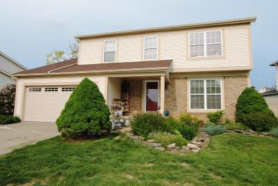 Reynoldsburg Single Family Home For Sale: 8474 Priestley Drive