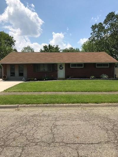Reynoldsburg Single Family Home For Sale: 1741 Stouder Drive
