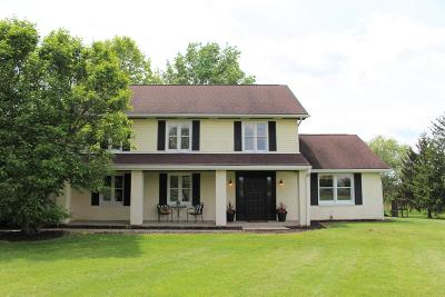 Fairfield County, Pickaway County, Ross County Single Family Home For Sale: 11645 Alspach Road NW