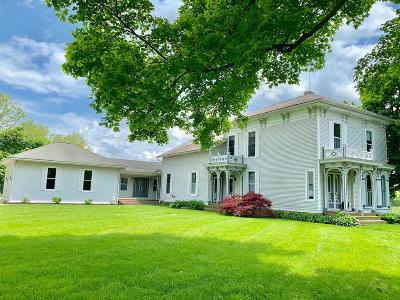Mount Vernon Single Family Home For Sale: 13600 Old Mansfield Road