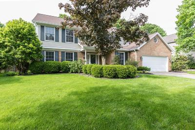 Upper Arlington Single Family Home For Sale: 2290 Sandover Road