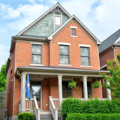 Columbus Single Family Home For Sale: 1050 Perry Street