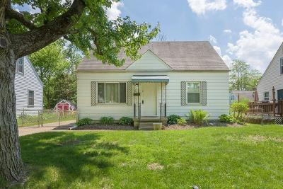 Columbus OH Single Family Home For Sale: $134,900