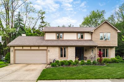 Westerville Single Family Home For Sale: 111 Spring Creek Drive