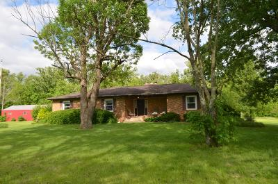 Ashville Single Family Home For Sale: 11914 Winchester Road