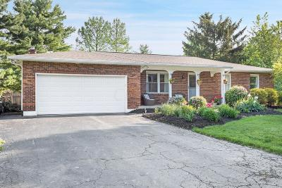 Hilliard Single Family Home For Sale: 5398 Schatz Lane