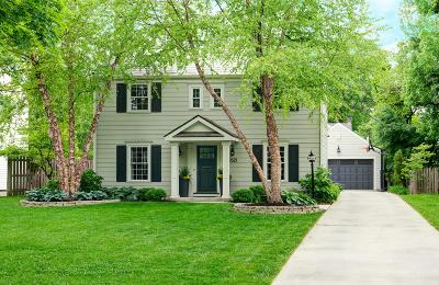 Upper Arlington Single Family Home For Sale: 1621 Cardiff Road