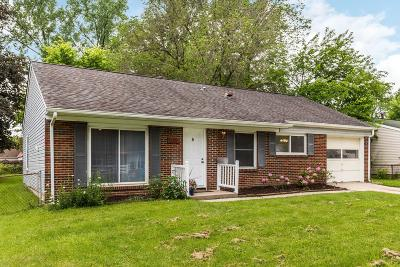 Franklin County, Delaware County, Fairfield County, Hocking County, Licking County, Madison County, Morrow County, Perry County, Pickaway County, Union County Single Family Home For Sale: 535 Daventry Lane