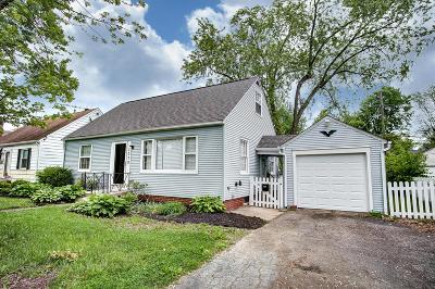 Columbus OH Single Family Home For Sale: $124,900