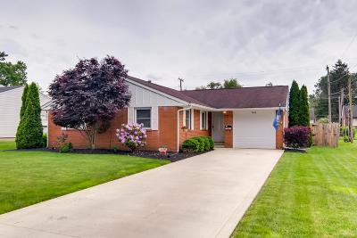 Newark OH Single Family Home For Sale: $134,900