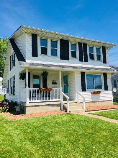 Franklin County, Delaware County, Fairfield County, Hocking County, Licking County, Madison County, Morrow County, Perry County, Pickaway County, Union County Single Family Home For Sale: 1240 Church Street