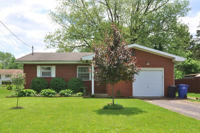 Westerville OH Single Family Home For Sale: $225,000