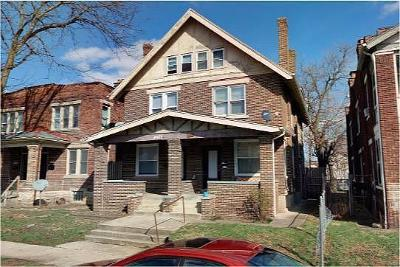 Columbus Multi Family Home For Sale: 1376-1378 N 4th Street
