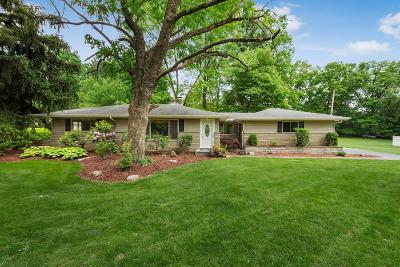 Franklin County Single Family Home For Sale: 1380 Oak Hill Road