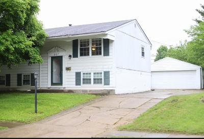 Franklin County Single Family Home For Sale: 447 Canfield Drive