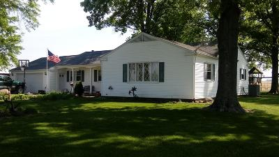 Fairfield County, Pickaway County, Ross County Single Family Home For Sale: 7840 Rader Road NE