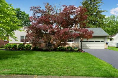 Upper Arlington Single Family Home For Sale: 3307 Kirkham Road