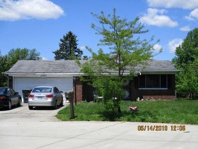 Columbus Single Family Home For Sale: 2763 N Jenifer Place