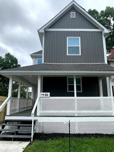 Columbus Single Family Home For Sale: 73 N Central Avenue